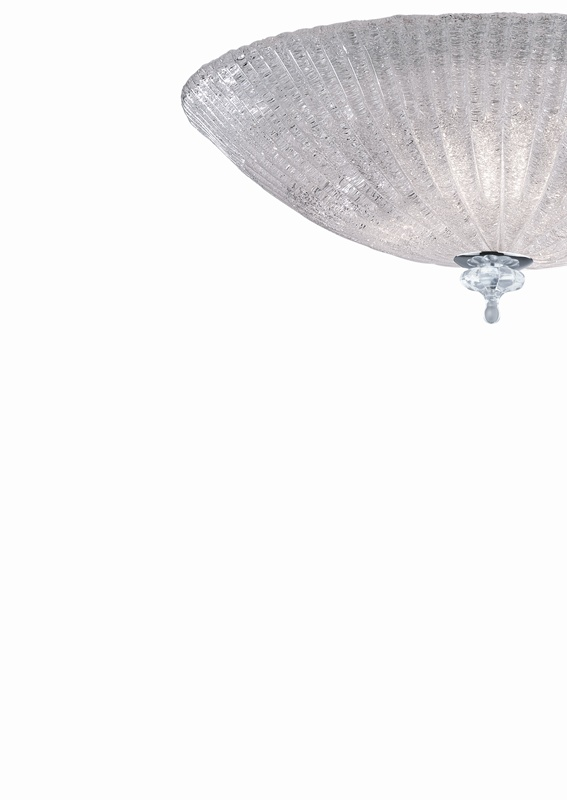 Ideal Lux 008622 Shell PL6 Trasparente mennyezeti lámpa
