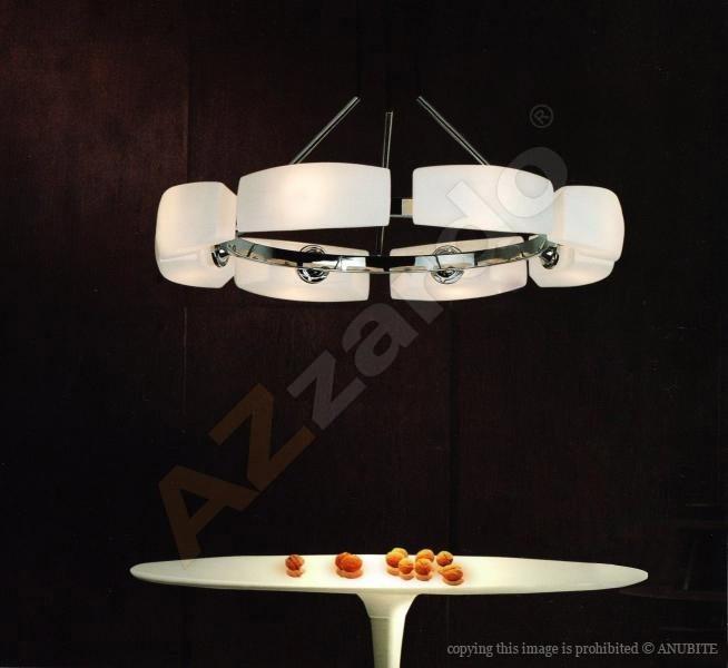 AZzardo AZ-0154 Fiona 8 izzós függeszték / Azzardo AZ-MD1029-8 /