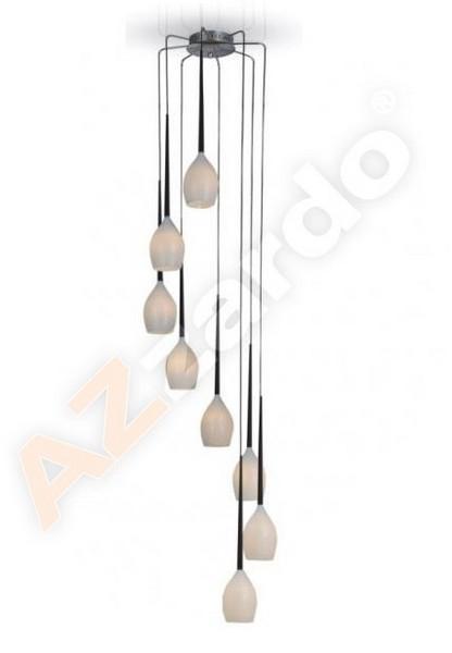 AZzardo AZ-0160 Izza 8 izzós függeszték / Azzardo AZ-MD1288A-8W / lámpa