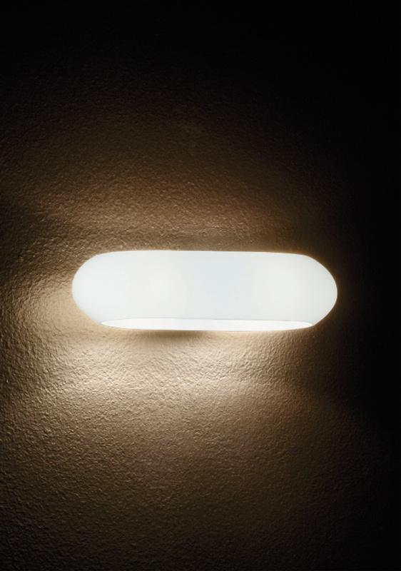 Ideal Lux 034546 Moris AP2 Bianco falilámpa