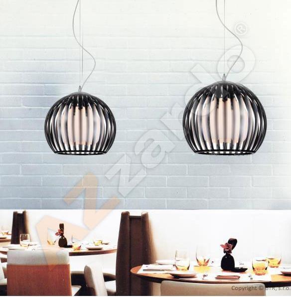 AZzardo AZ-0363 Arcada 1 izzós függeszték / Azzardo AZ-MD2106-1BL / lámpa