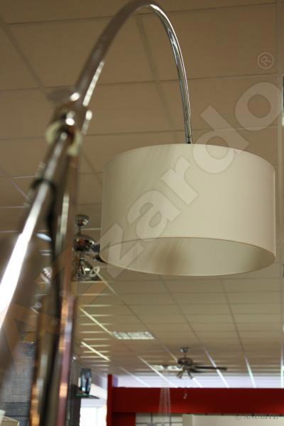 AZzardo AZ-0005  Bianca állólámpa / Azzardo AZ-TS061121F-CH / lámpa