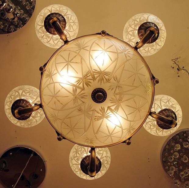 Sevinc SE 2068/5+3 Antik Csillár Sevinc lámpa