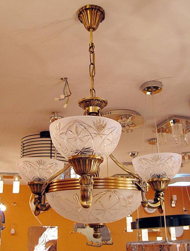 Sevinc SE 2068/3+3 Antik Csillár Sevinc lámpa