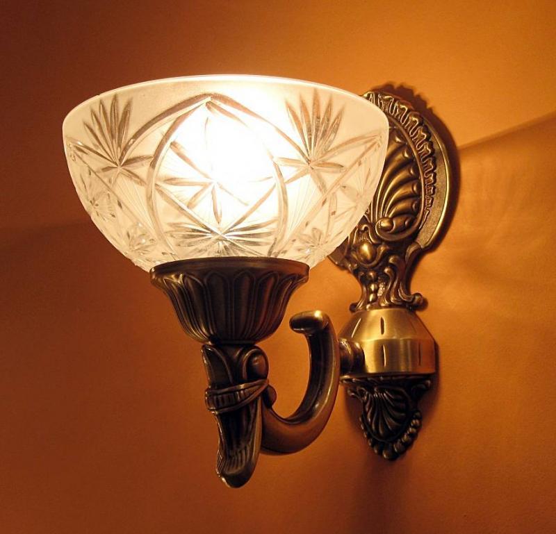 Sevinc SE 2068/1A Antik Falilámpa Sevinc lámpa