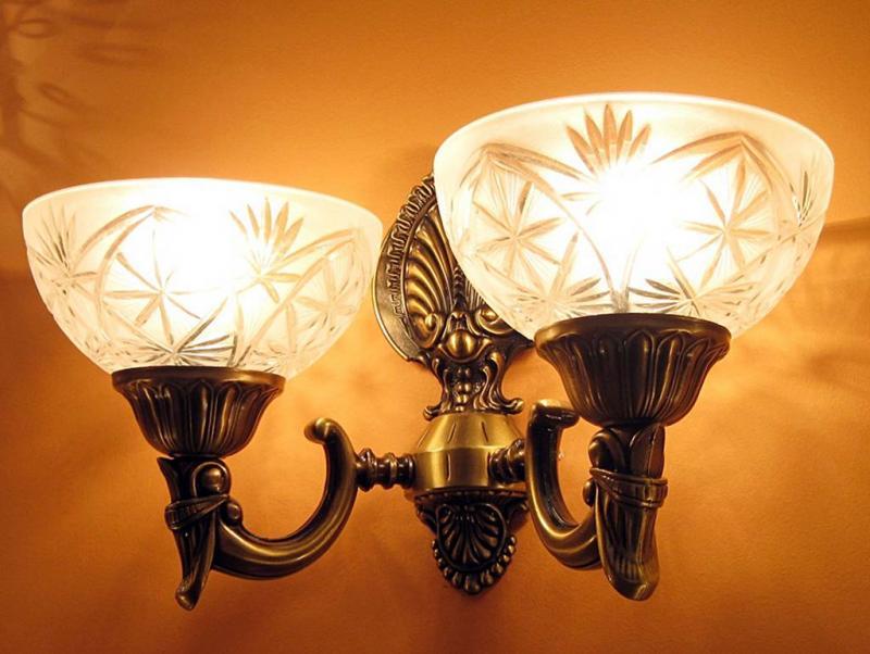 Sevinc SE 2068/2A Antik Falilámpa Sevinc lámpa