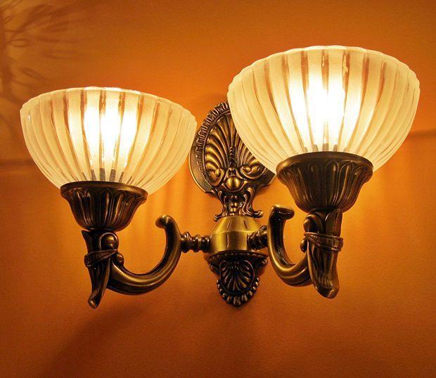 Sevinc SE 2067/2A  Antik Falilámpa Sevinc lámpa