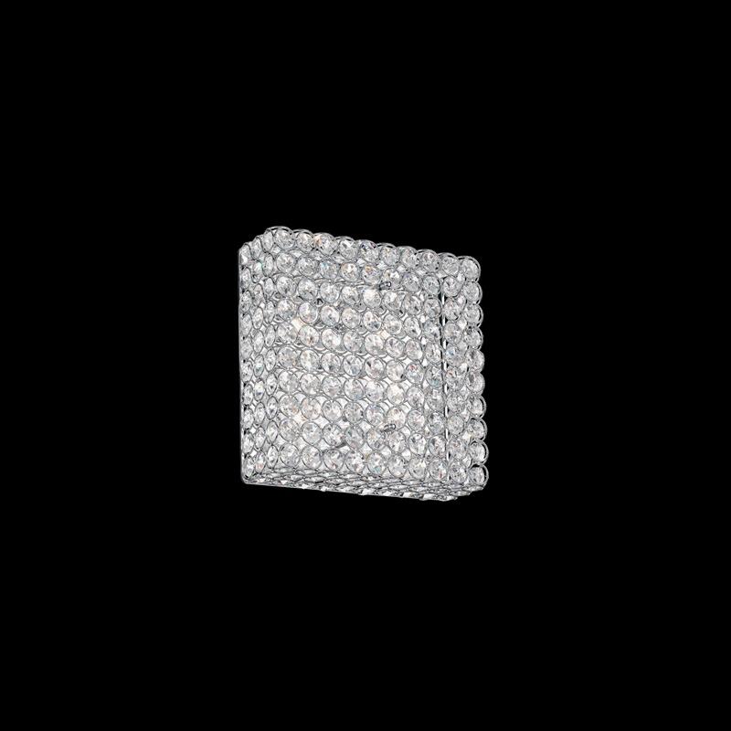 Ideal Lux 080338 Admiral PL4 mennyezeti kristálylámpa