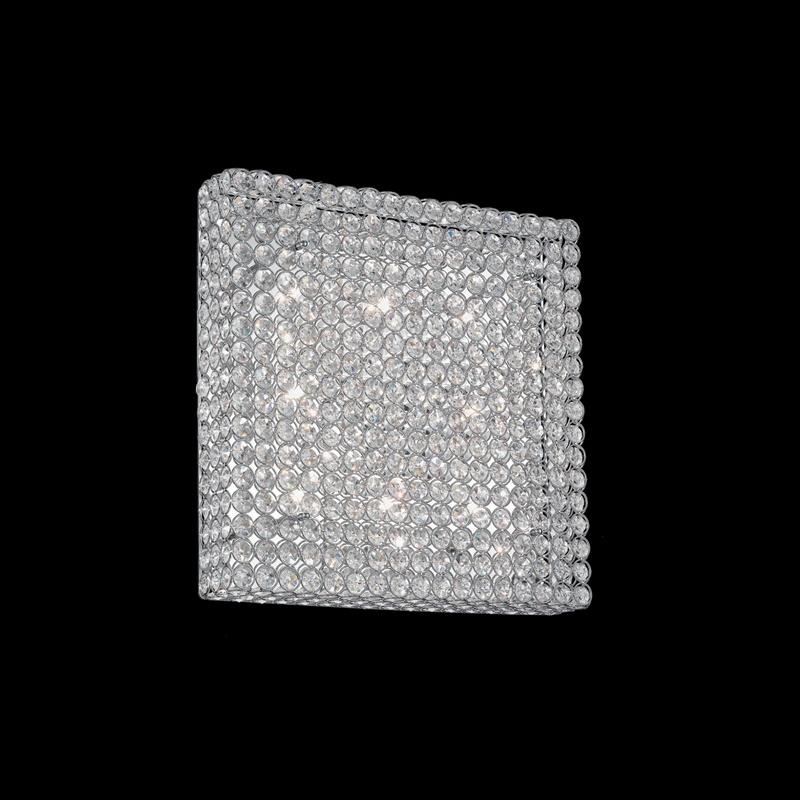 Ideal Lux 080352 Admiral PL8 mennyezeti kristálylámpa