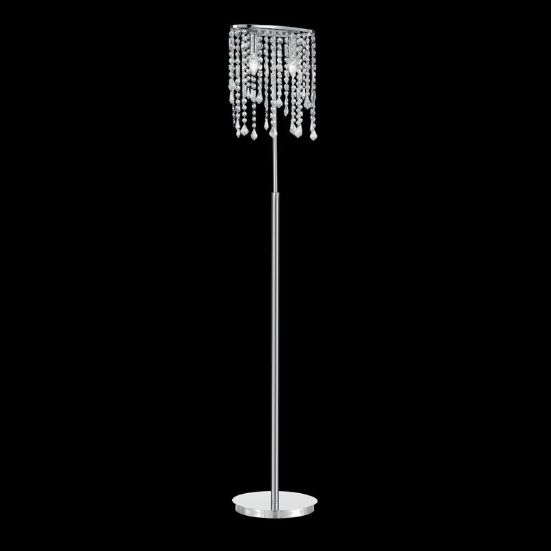 Ideal Lux 080277 Rain PT2 Clear kristály állólámpa