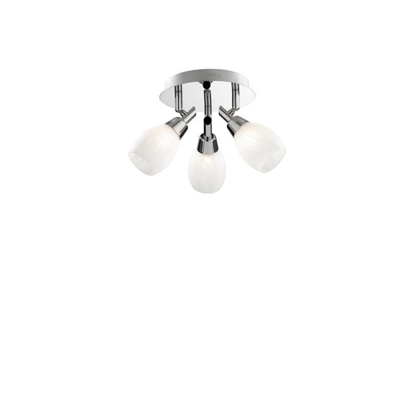 Ideal Lux 075075 Soffio AP3 Spot mennyezeti lámpa