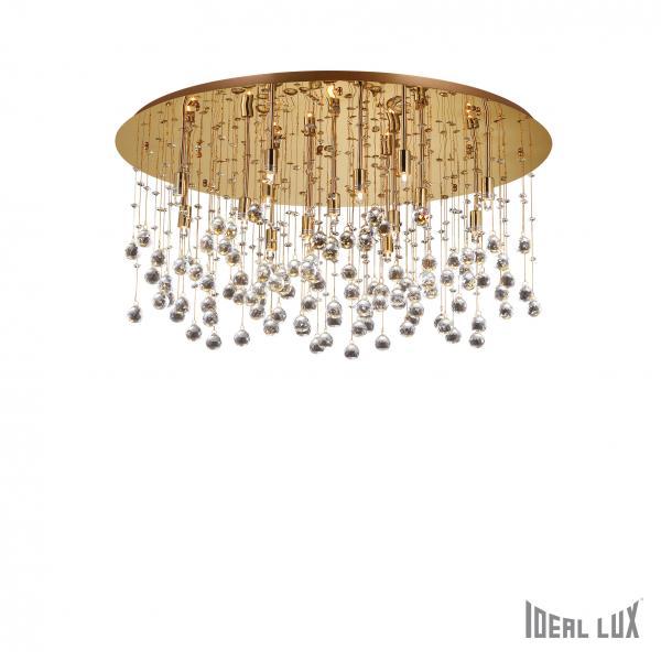 Ideal Lux 082790 Moonlight PL15 Oro kristály mennyezeti lámpa