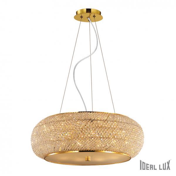 Ideal Lux 082257 Pashá SP10 Oro kristály függeszték
