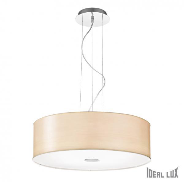 Ideal Lux 087719 Woody SP5 Wood lámpa függeszték