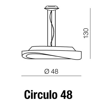 Azzardo AZ-0986 Circulo 3 izzós függeszték / AZzardo AZ-MD5657M-CH /