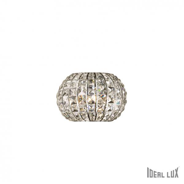 Ideal Lux 044163 Calypso AP2 modern kristály falilámpa