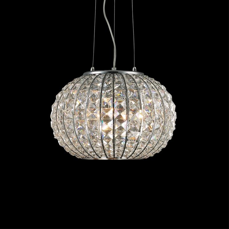 Ideal Lux 044194 Calypso SP3 kristály lámpafüggeszték