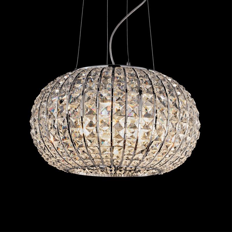 Ideal Lux 044200 Calypso SP5 kristály lámpafüggeszték