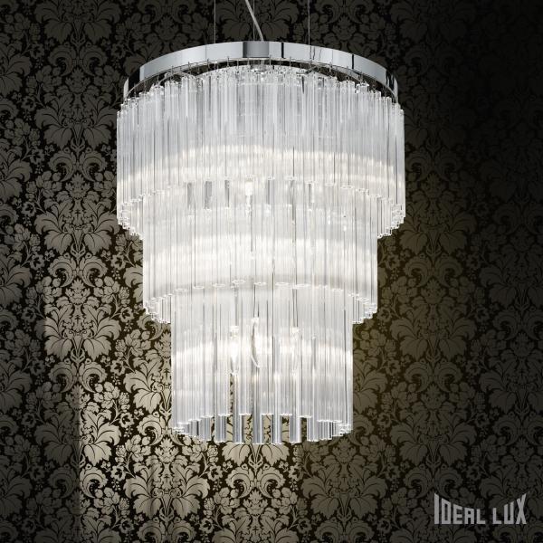Ideal Lux 026695 Elegant SP12 lámpa függeszték
