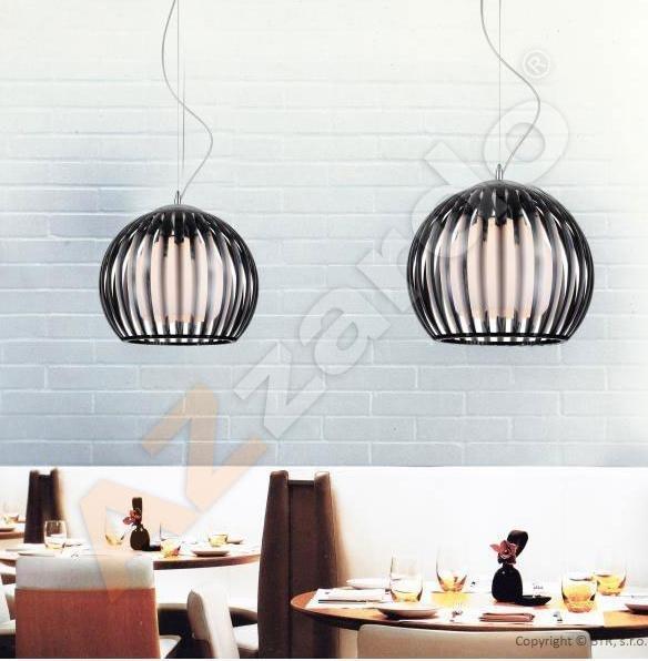 AZzardo AZ-0477 Arcada 1 izzós függeszték / Azzardo AZ-LP6013-1BL / lámpa