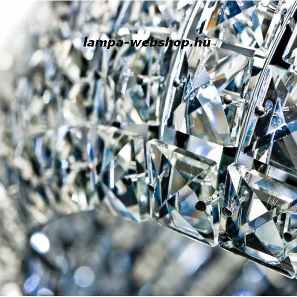 Azzardo AZ-0522 Sophia 5 izzós kristály függeszték / Azzardo AZ-5024-5P / lámpa