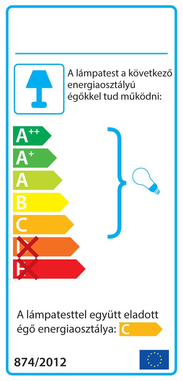 AZzardo AZ-0114 Pancake fali lámpa / Azzardo AZ-MB329-2W / lámpa