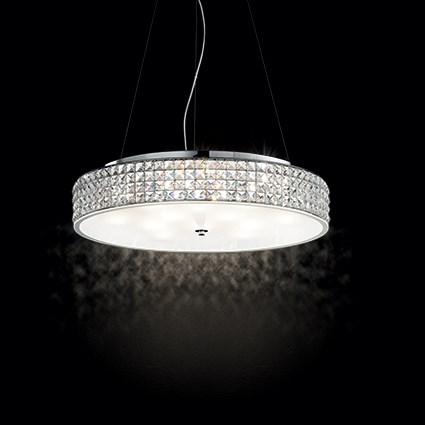 Ideal Lux 093048 Roma SP9 kristály függeszték