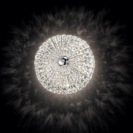 Ideal Lux 018089 Virgin PL5 mennyezeti kristály lámpa