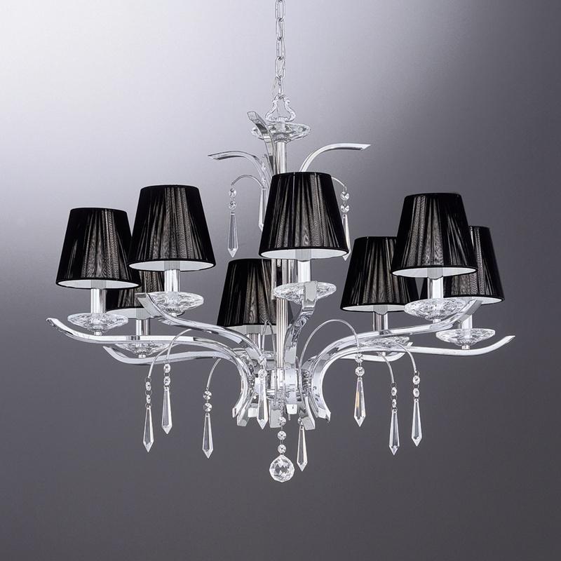 2. Ideal Lux Accademy SP8 modern csillárfüggeszték / Ideal Lux / lámpák