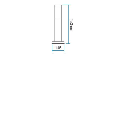 Redo Colonna 9013 kültéri modern állólámpa / Redo / lámpák
