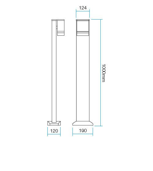 Redo Focus 9813 kültéri modern állólámpa / Redo / lámpák