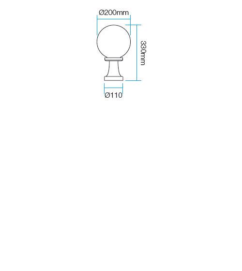 Redo Sfera1 9765 kültéri modern állólámpa / Redo / lámpák
