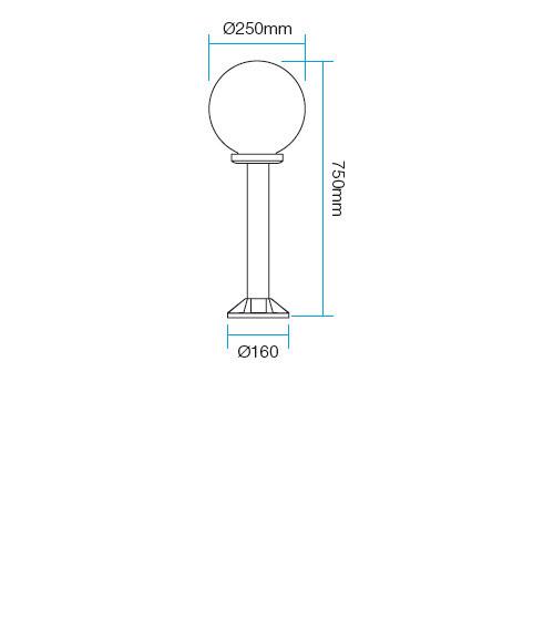 Redo Sfera2 9779 kültéri modern állólámpa / Redo / lámpák