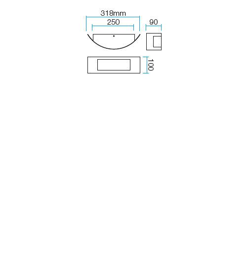 Redo Linea 9356 kültéri modern fali lámpa / Redo / lámpák