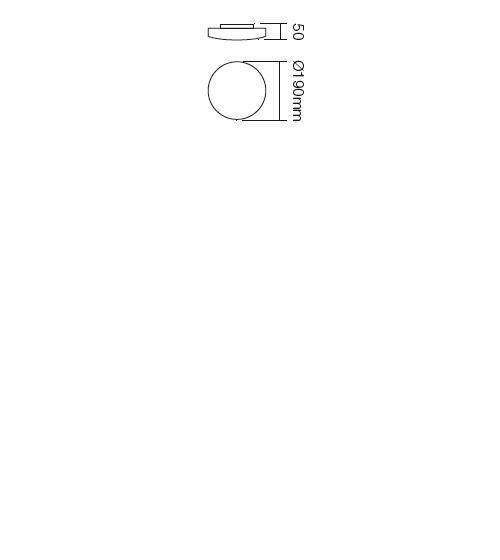 Redo Rondo 05-572 modern fali / mennyezeti lámpa / Redo / lámpák