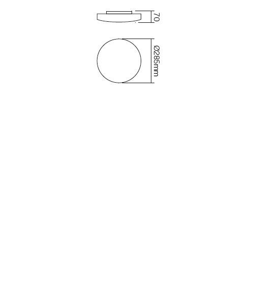 Redo Rondo 05-573 modern mennyezeti lámpa / Redo / lámpák