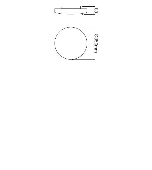 Redo Rondo 05-574 modern mennyezeti lámpa / Redo / lámpák