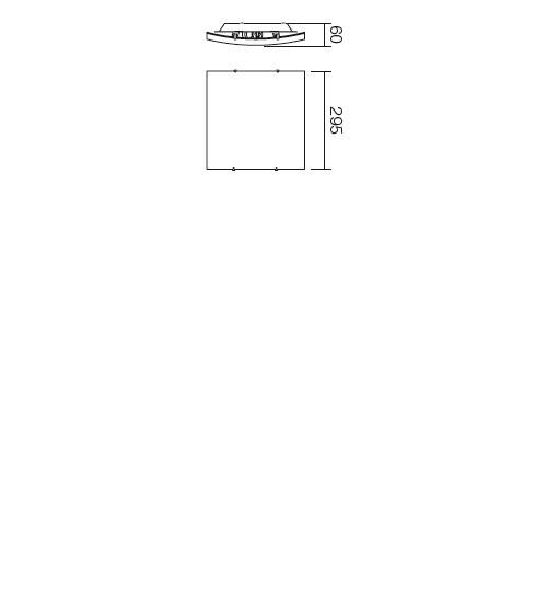 Redo Edera 05-697 modern mennyezeti lámpa / Redo / lámpák