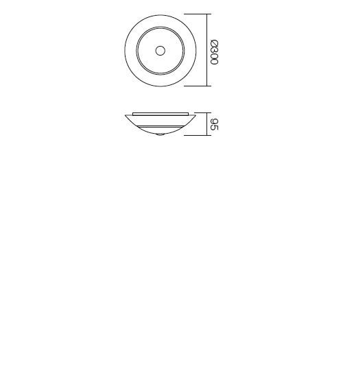 Redo Greca 05-193 klasszikus mennyezeti lámpa / Redo / lámpák
