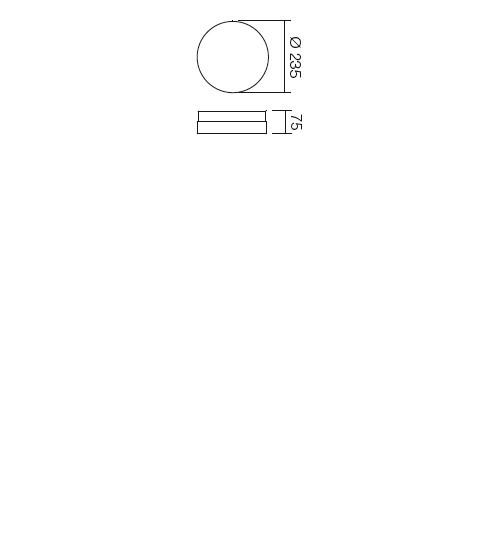 Redo Teo 01-236 modern mennyezeti lámpa / Redo / lámpák