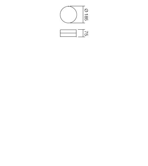 Redo Teo 01-237 modern mennyezeti lámpa / Redo / lámpák