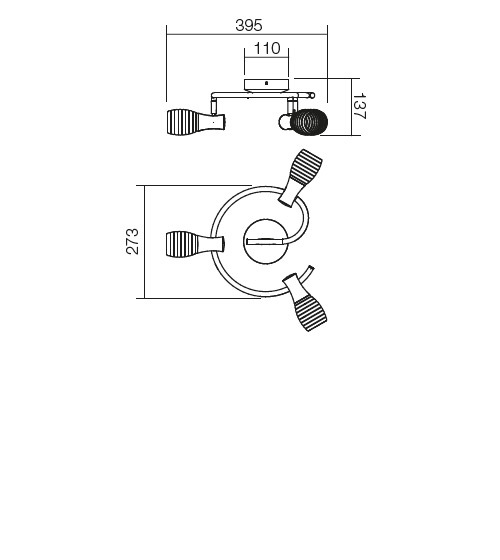 Redo Scenic 04-323 modern mennyezeti lámpa / Redo / lámpák