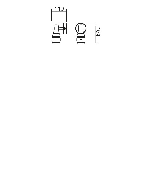 Redo Scenic 04-321 modern spot fali lámpa / Redo / lámpák