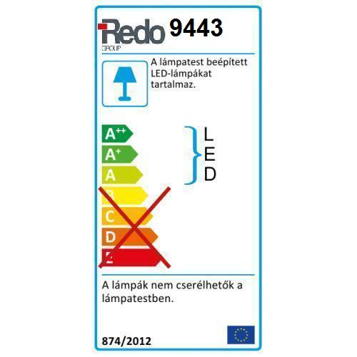 Redo Cube 9443 kültéri modern fali / mennyezeti / Redo / lámpák