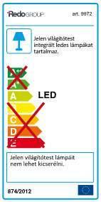Redo Baloo 9972 kültéri modern dekorációs lámpa / Redo / lámpák