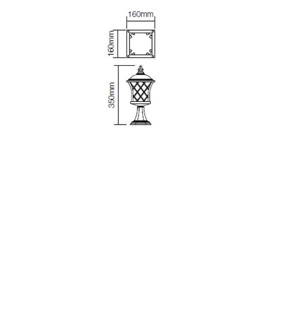 Redo Bremen 9953 kültéri klasszikus állólámpa / Redo / lámpák