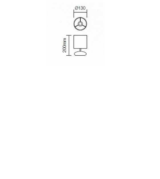 Redo Five 01-855 modern asztali lámpa / Redo / lámpák