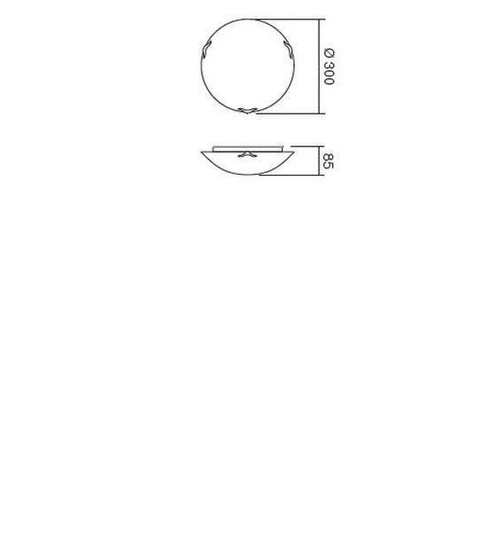 Redo Spira 05-760 klasszikus mennyezeti lámpa / Redo / lámpák