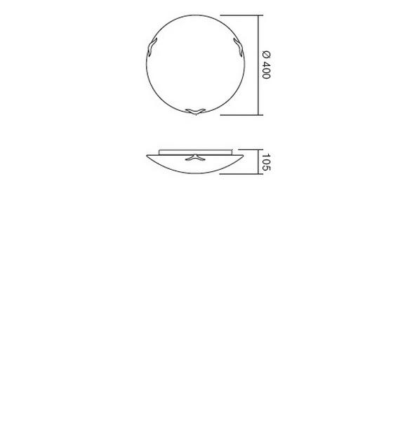 Redo Spira 05-761 klasszikus mennyezeti lámpa / Redo / lámpák