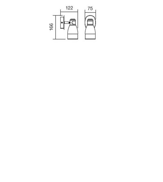 Redo Snap 04-336 modern fali lámpa / Redo / lámpák